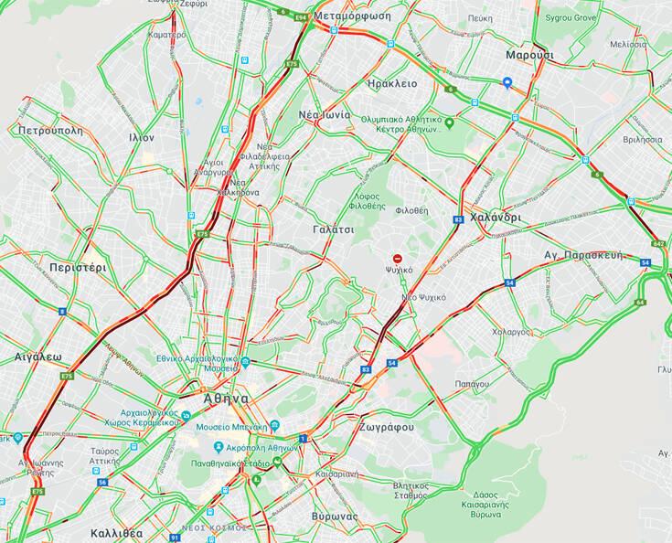 Κίνηση για γερά νεύρα, σε ποιους δρόμους εντοπίζονται τα προβλήματα
