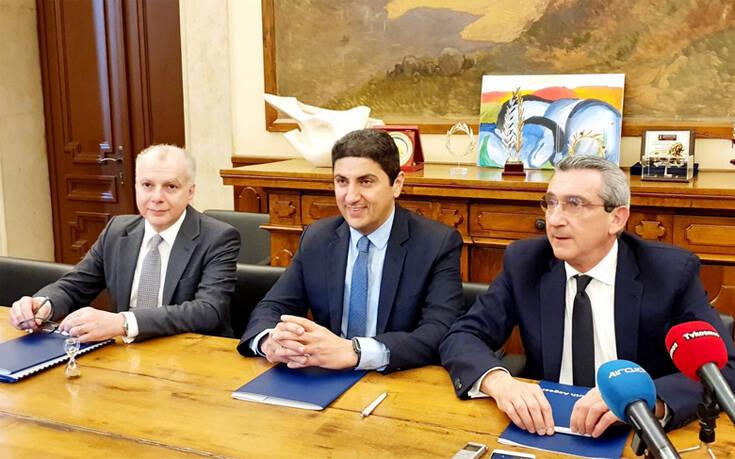 Μνημόνιο συνεργασίας με στόχο την ταχύτερη εκτέλεση αθλητικών έργων στο Νότιο Αιγαίο
