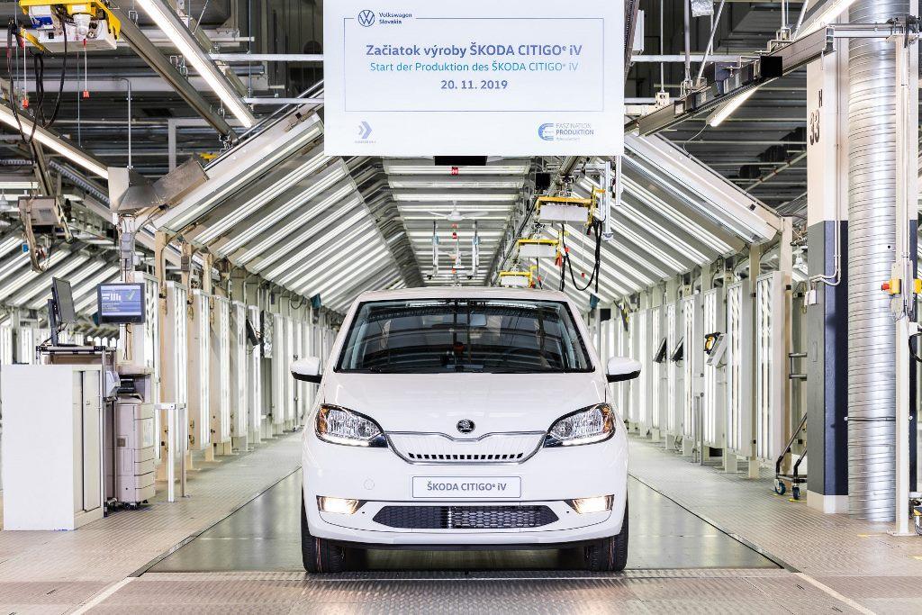 Το πρώτο ηλεκτροκίνητο όχημα παραγωγής της SKODA το CITIGOe iV έφτασε στην Ελλάδα