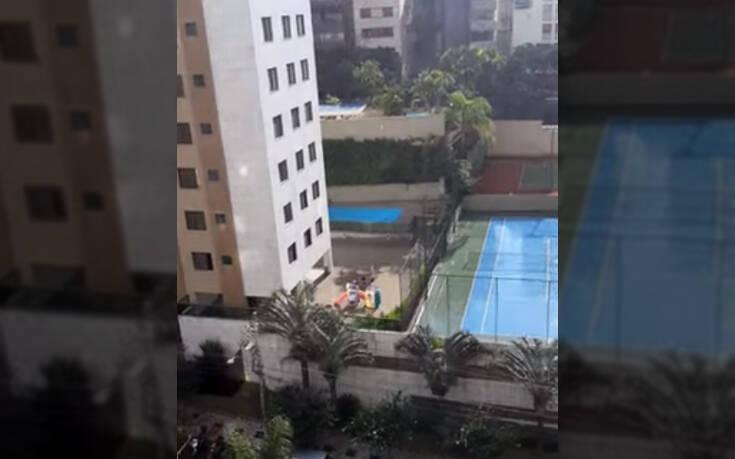 Κινητό πέφτει από τον 10ο όροφο και συνεχίζει να δουλεύει κανονικά