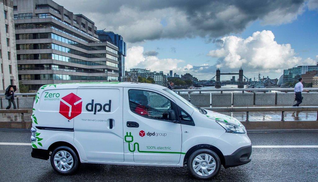 Η Nissan θα παραδώσει 300 αμιγώς ηλεκτρικά e-NV200, στην DPD του Ηνωμένου Βασιλείου