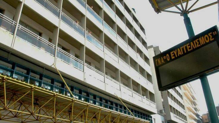 Άνδρας σκοτώθηκε πέφτοντας από τον 8ο όροφο του Ευαγγελισμού