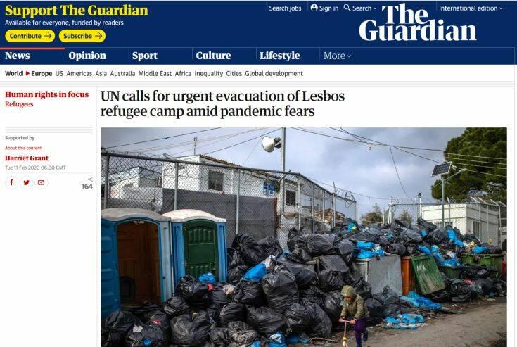 Να εκκενωθεί άμεσα η Μόρια ζητά ο ΟΗΕ – Φόβοι για πανδημία λόγω των άθλιων συνθηκών