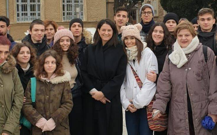 Επίσκεψη Νίκης Κεραμέως στην Θεολογική Σχολή της Χάλκης