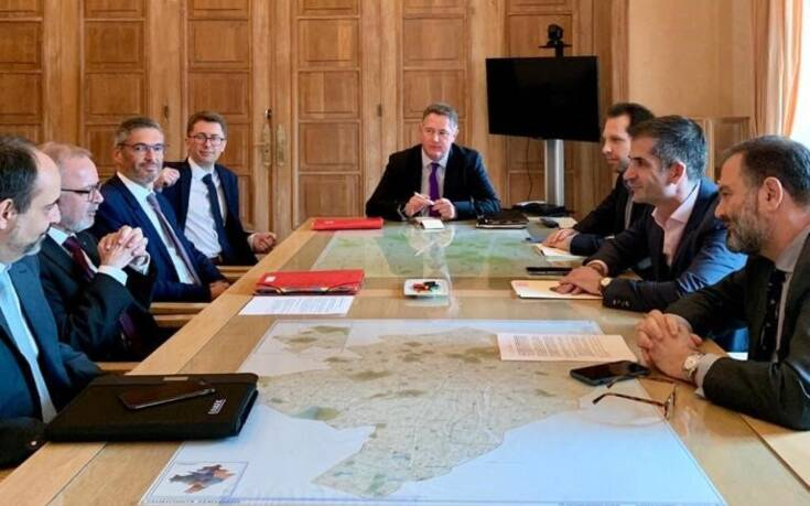 Συνάντηση Μπακογιάννη με τον πρόεδρο της Ευρωπαϊκής Τράπεζας Επενδύσεων για την ανάπτυξη της Αθήνας