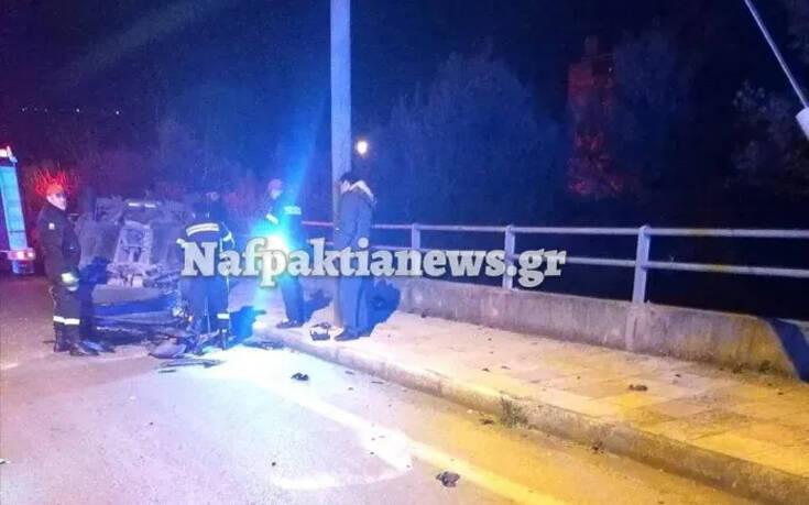 Εικόνες από τροχαίο στη Ναύπακτο – Αυτοκίνητο ντελαπάρισε και εγκλωβίστηκαν άνθρωποι