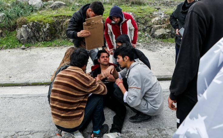 ΣΥΡΙΖΑ για Μόρια: Η ευθύνη για τα σημερινά επεισόδια βαρύνει αποκλειστικά την κυβέρνηση Μητσοτάκη