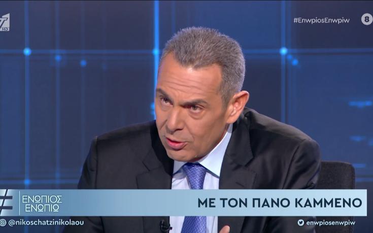 Καμμένος: Ο Βαρουφάκης είχε συμφωνήσει με τον Σόιμπλε να φύγουμε από την ευρωζώνη