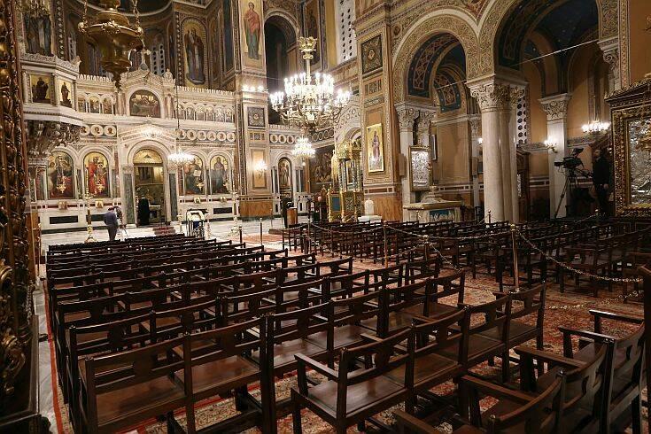 Κορονοϊός: Παρατείνονται μέχρι τις 11 Απριλίου και τα περιοριστικά μέτρα για τις εκκλησίες