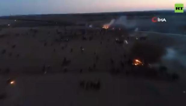 Συγκλονιστικό βίντεο drone από τα ελληνοτουρκικά σύνορα στον Έβρο