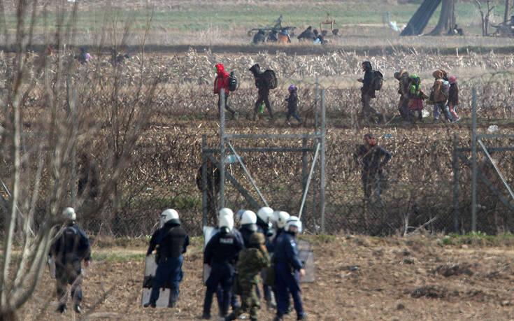 Κυβερνητικές πηγές: Μπλόκο σε ακόμα 2.791 άτομα στον Έβρο – 34 συλλήψεις
