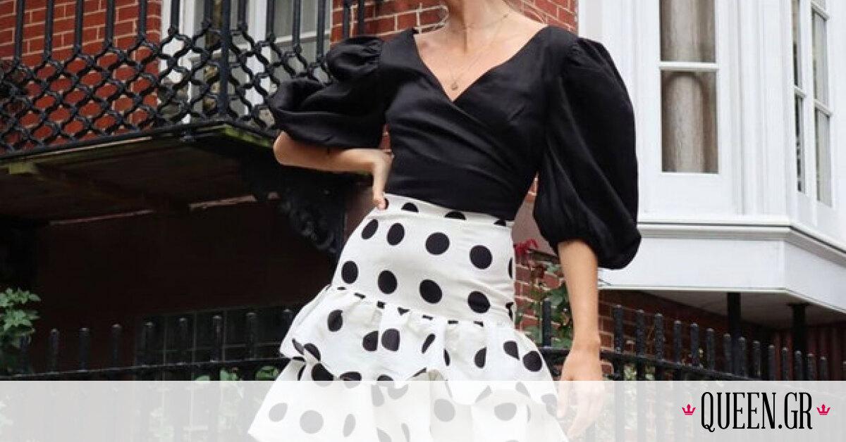 Αυτή τη φούστα από την εποχή των 00's θα θες να φοράς συνέχεια την άνοιξη και το καλοκαίρι