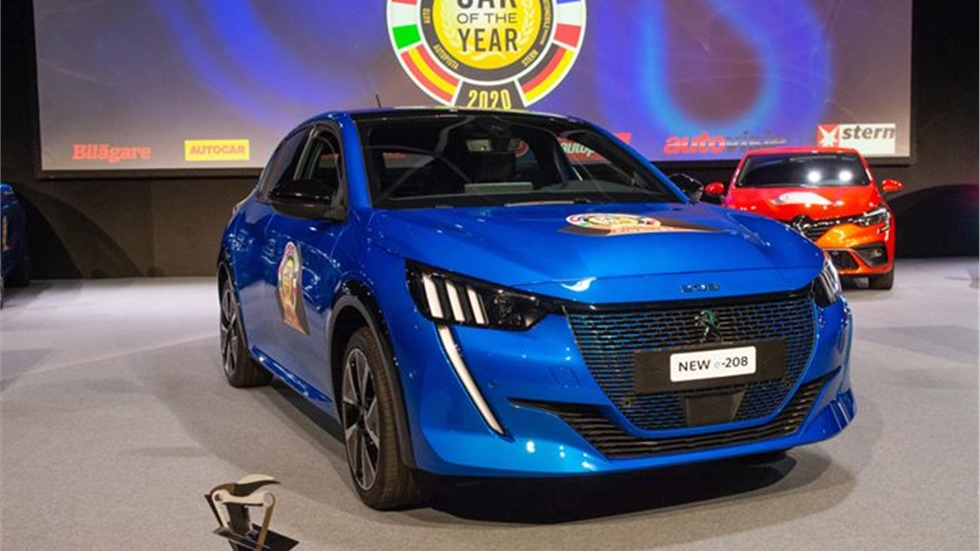 CAR OF THE YEAR: Αυτοκίνητο της Χρονιάς: Ο τίτλος στο Peugeot 208