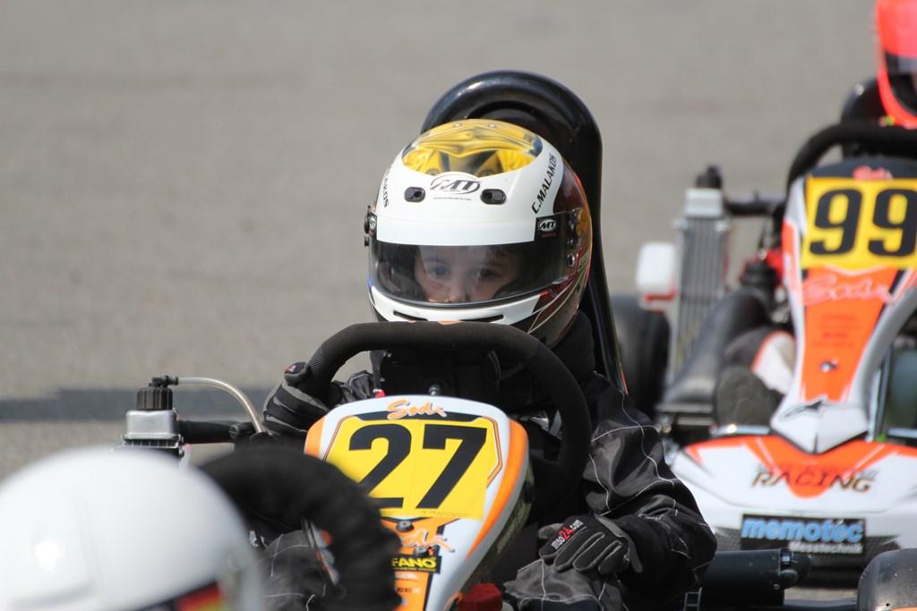 Κρις Μαλακός:Είναι 8 ετών και έβαλε στόχο να γίνει οδηγός στη F1