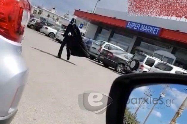 Άντρας πήγε να ψωνίσει σε Σούπερ Μάρκετ στα Χανιά ντυμένος Star Wars