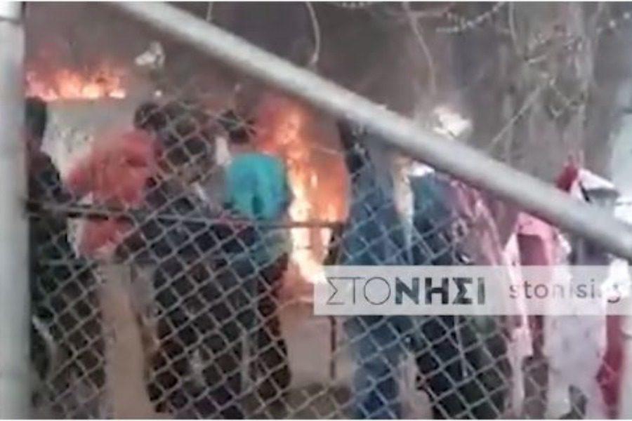 Τραγωδία στη Λέσβο: Νεκρό 6χρονο παιδί από πυρκαγιά στη Μόρια