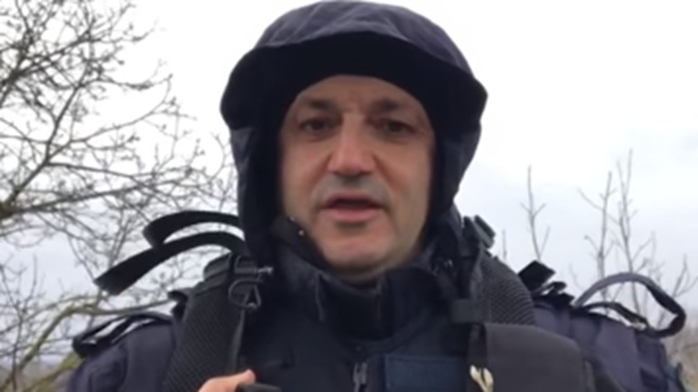 Συγκινεί αστυνομικός στον Έβρο: Εμείς σας φυλάμε, εσείς μείνετε σπίτι [βίντεο]