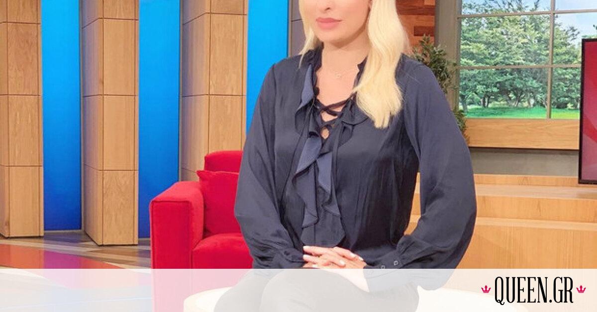 H Ελένη Μενεγάκη μόλις φόρεσε ένα από τα πιο hot χρώματα της φετινής άνοιξης