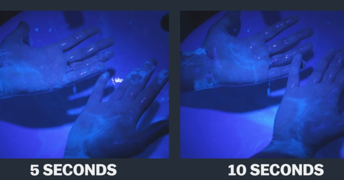 Πώς το σωστό πλύσιμο των χεριών καταστρέφει τον κορωνοϊό [βίντεο]
