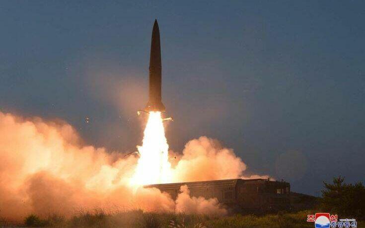 Η Βόρεια Κορέα εκτόξευσε πυραύλους, αγνώστου τύπου