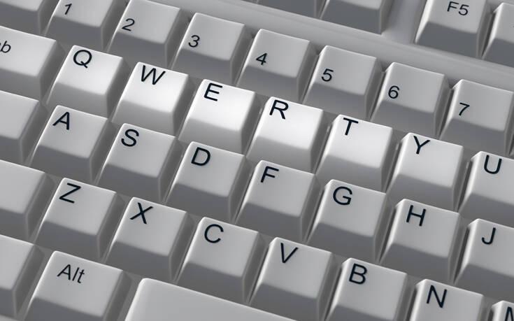 Για ποιο λόγο τα γράμματα στο πληκτρολόγιο είναι ανακατεμένα