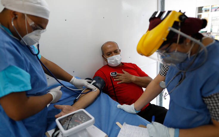 Κορονοϊός: Θετικοί στον ιό ακόμα 60 εργαζόμενοι σε νοσοκομεία στο Μεξικό