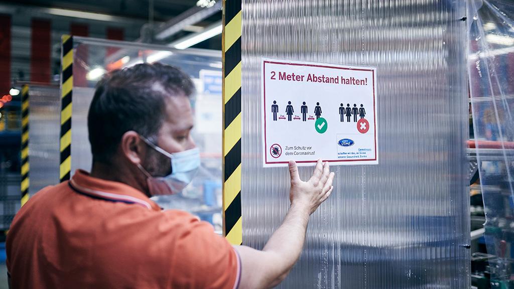 Επανεκκίνηση Παραγωγής για τη Ford με Εφαρμογή Πρωτόκολλων Αυξημένης Προστασίας Εργαζομένων