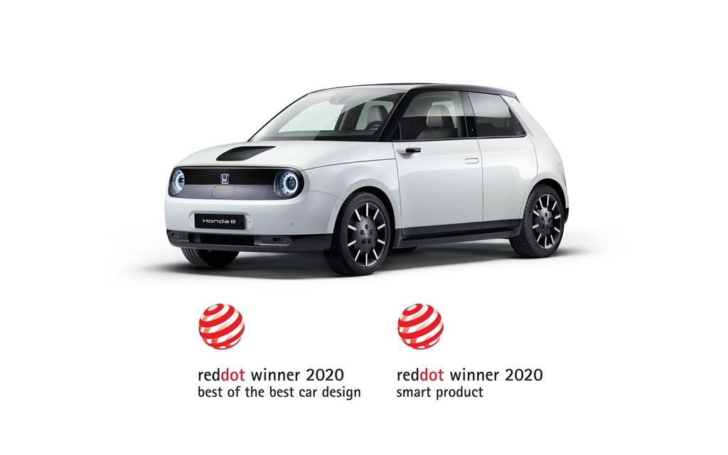 Red Dot: Best of the Best 2020': Βραβείο για το Honda e