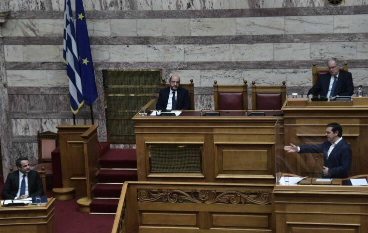 Τσίπρας σε Μητσοτάκη: Μας είπατε ότι απλά η ύφεση θα είναι μεγάλη, δεν είστε σχολιαστής, είστε πρωθυπουργός