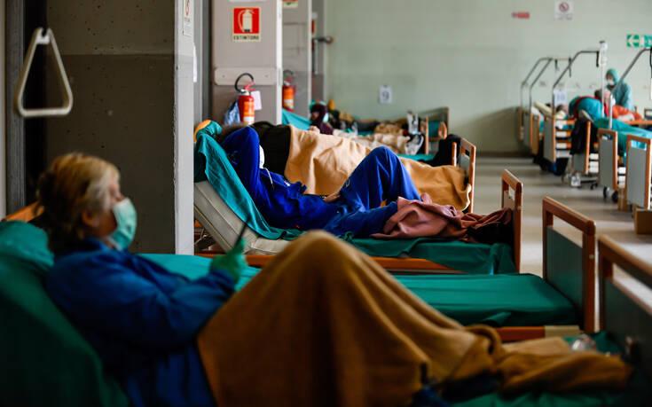 Ιταλία – Κορονοϊός: Μεγάλος περιορισμός των κρουσμάτων, αλλά μικρή αύξηση του αριθμού των νεκρών