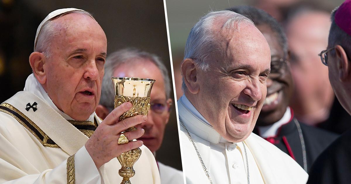 Πάπας: «Το ουίσκι είναι ο πραγματικός αγιασμός»
