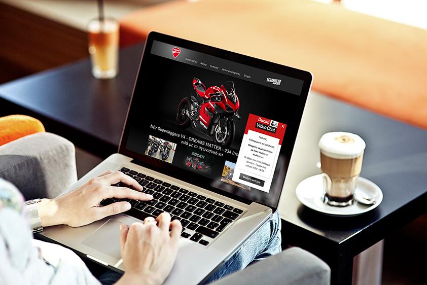 Ducati Video Chat: Μένουμε σπίτι, κρατάμε ζωντανό το πάθος μας για Ducati
