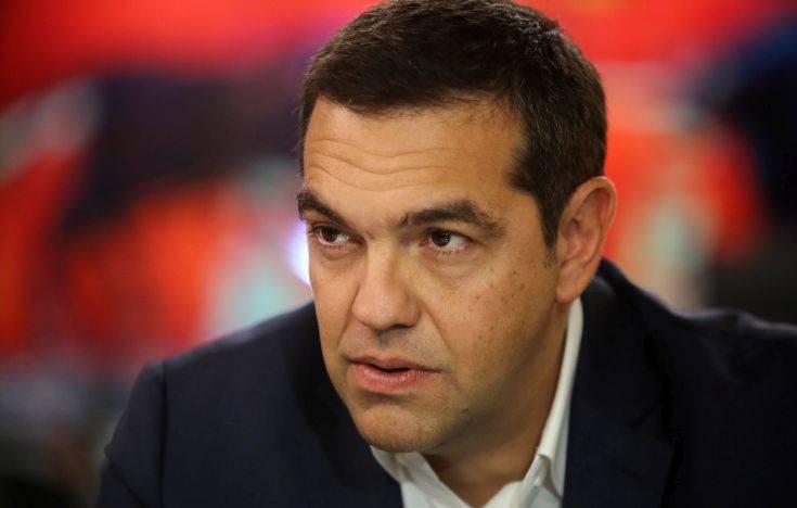 Στο κεντρικό δελτίο του ΑΝΤ1 θα μιλήσει ο Αλέξης Τσίπρας