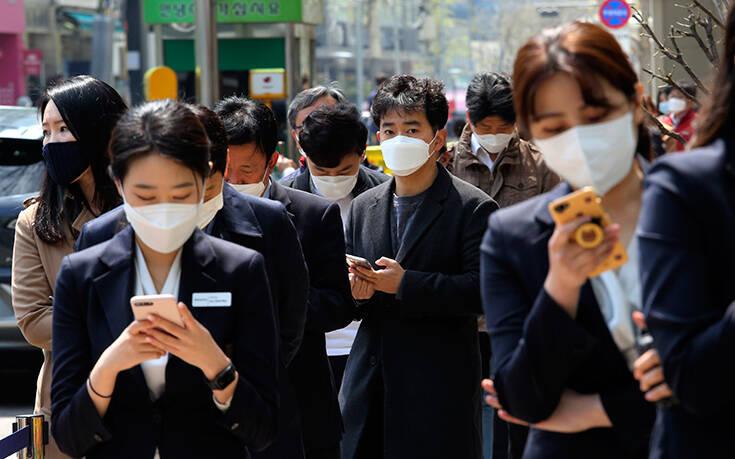 Ανησυχία στη Νότια Κορέα για επανενεργοποίηση του κορονοϊού: 91 ιαθέντες βρέθηκαν ξανά θετικοί στον ιό