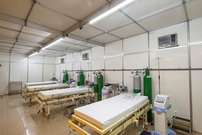 Σε επτά ημέρες εντατικής εργασίας δημιουργήθηκε η έκτακτη μονάδα ασθενών από κορωνοϊό