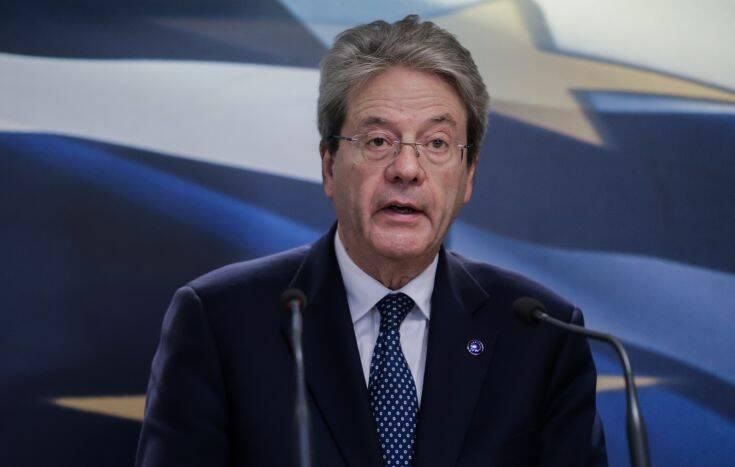 Τζεντιλόνι: Η ανάκαμψη της Ε.Ε. πρέπει να γίνει χωρίς αποκλίσεις των οικονομιών