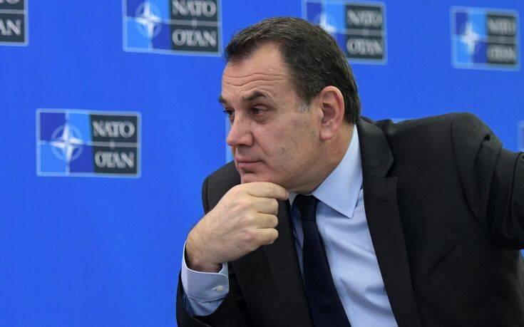 Αποτροπή της παράνομης μετανάστευσης στο Αιγαίο ζήτησε ο Παναγιωτόπουλος από το ΝΑΤΟ