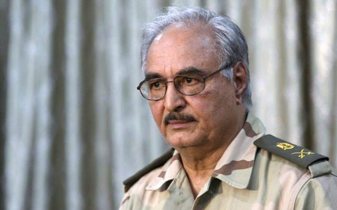 Χαφτάρ: Έλαβα την λαϊκή εντολή να κυβερνήσω τη Λιβύη