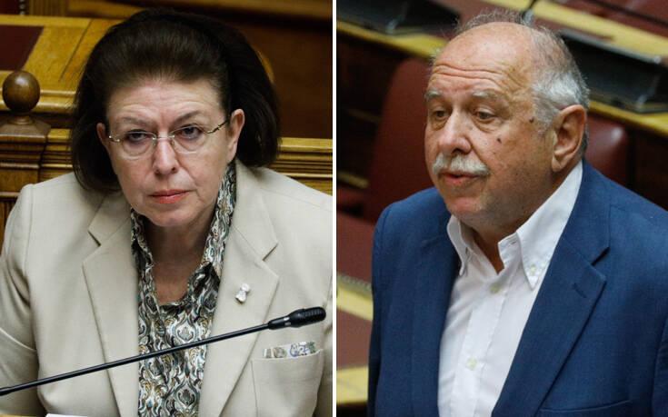 Έντονη αντιπαράθεση Μενδώνη-Σκουρολιάκου στη Βουλή για τους καλλιτέχνες