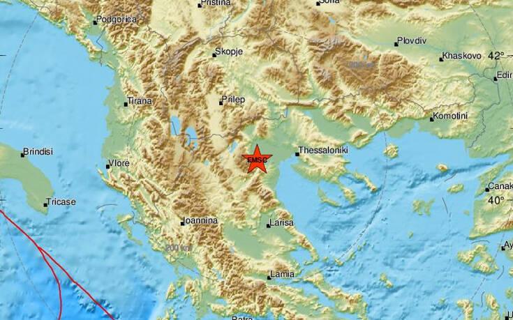 Σεισμός τώρα στη Βέροια