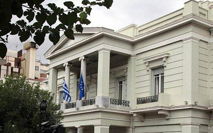 Έντονη καταδίκη από το ΥΠΕΞ για την τουρκική παρενόχληση ελικοπτέρου που μετέφερε τον υπουργό Άμυνας και τον Α/ΓΕΕΘΑ