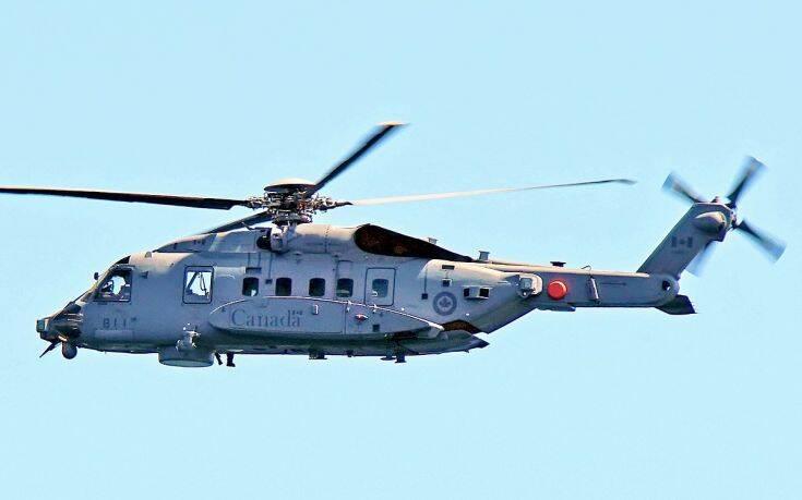 Θλίψη για το τραγικό δυστύχημα με το καναδικό ελικόπτερο στο Ιόνιο εκφράζει το ΥΠΕΞ