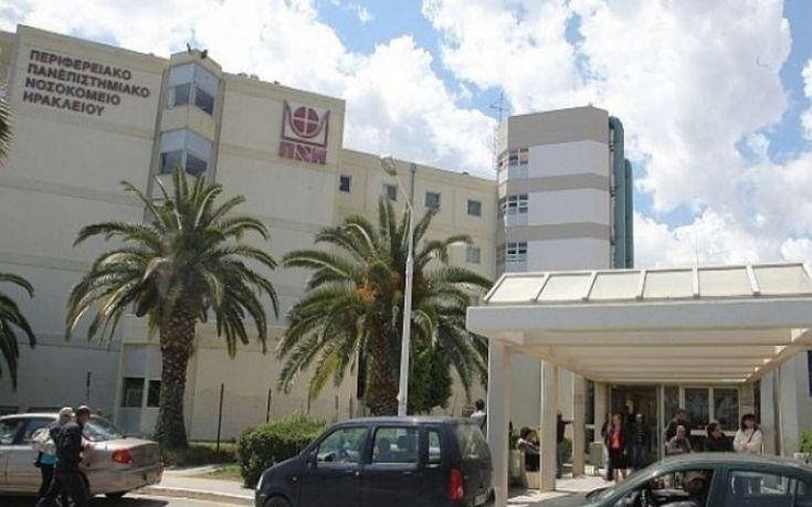Αρνητικά τα τεστ για κορονοϊό στο προσωπικό του Νοσοκομείου Ηρακλείου που φρόντιζε ηλικιωμένο ασθενή