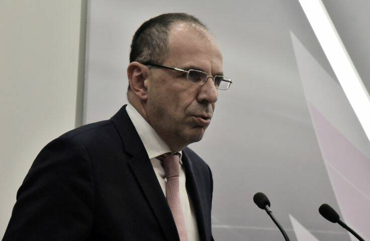 Γεραπετρίτης: Θα πράξουμε το χρέος μας χωρίς καμία απολύτως εθνική υστέρηση