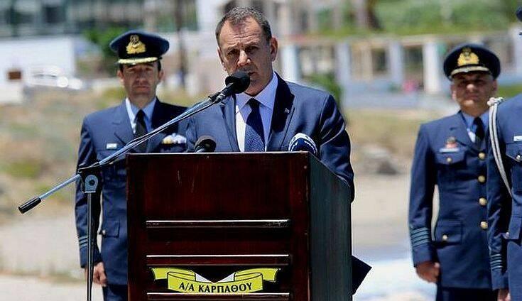 Νίκος Παναγιωτόπουλος: «Οι Ένοπλες Δυνάμεις είναι πανταχού παρούσες, εξασφαλίζοντας τα σύνορα της χώρας»