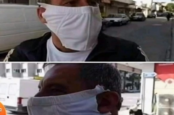 Θεσσαλονίκη: Άντρας έκανε το βρακί του μάσκα και μπήκε στο λεωφορείο