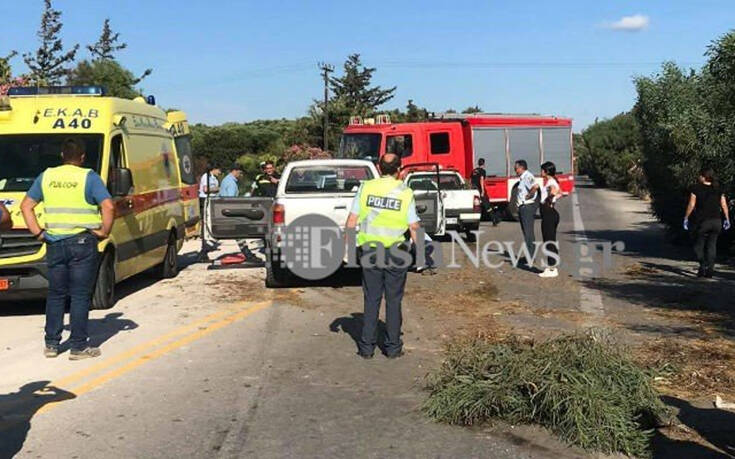 Υπέκυψε ο οδηγός στην Κρήτη που εκσφενδονίστηκε από το αυτοκίνητό του