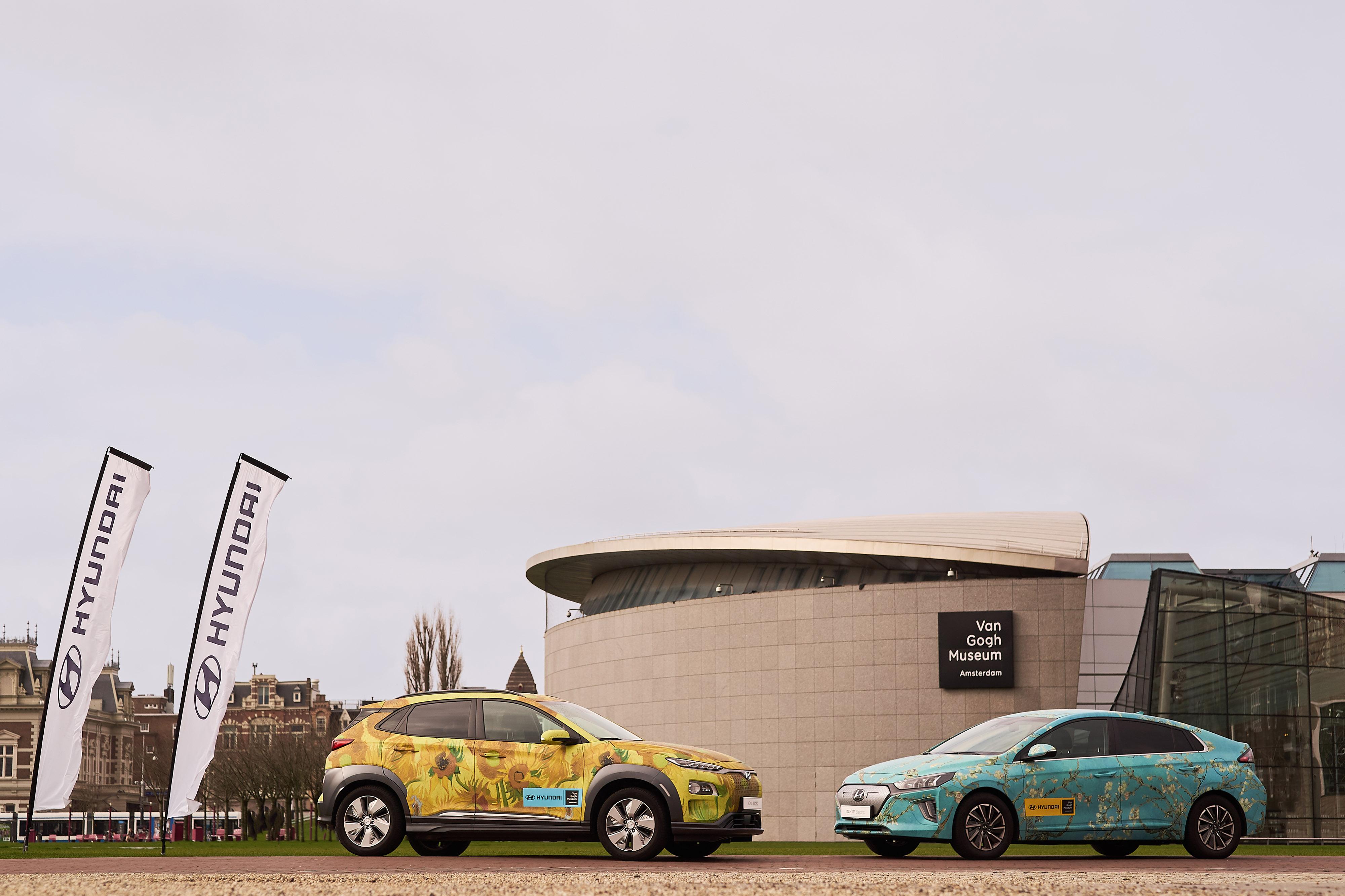 Η Hyundai επεκτείνει τη συνεργασία της με το Μουσείο Van Gogh στο Άμστερνταμ