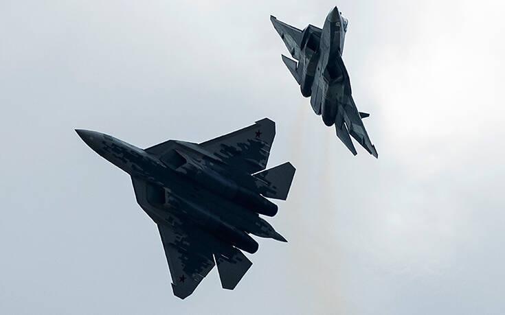Ρωσικά μαχητικά αναχαίτισαν βομβαρδιστικά των ΗΠΑ στη Μαύρη Θάλασσα