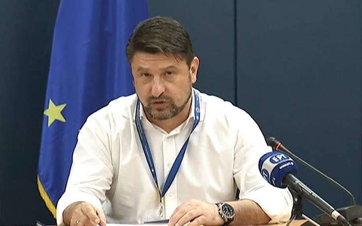 Νίκος Χαρδαλιάς: Δεν είναι ζήτημα της αστυνομίας ο περιορισμός του κορονοϊού